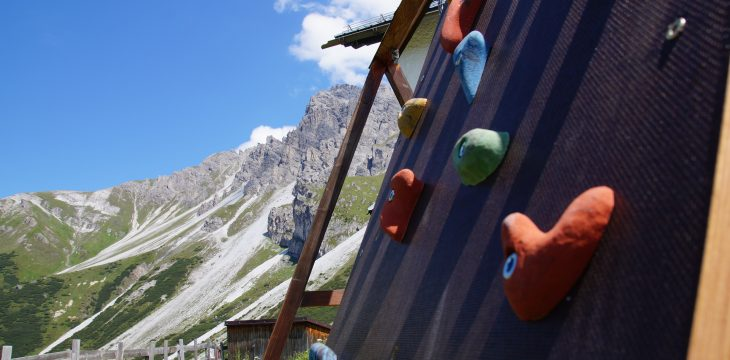"""new climbing routes """"for the little ones"""""""